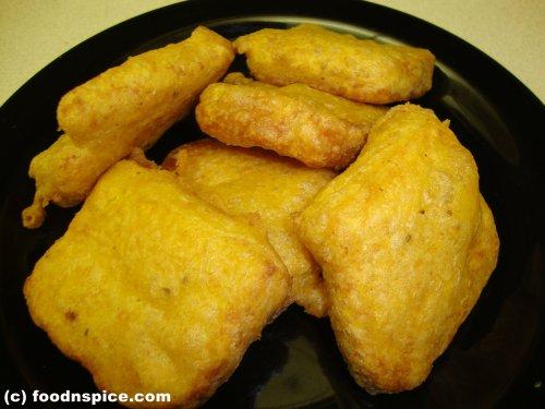 Bread Fritters (Bread Pakoda)