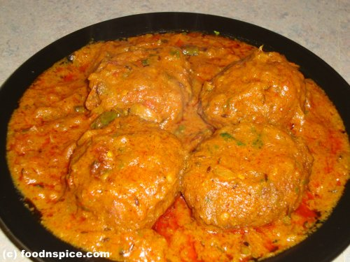 Lauki (Bottle Gourd) Kofta Curry