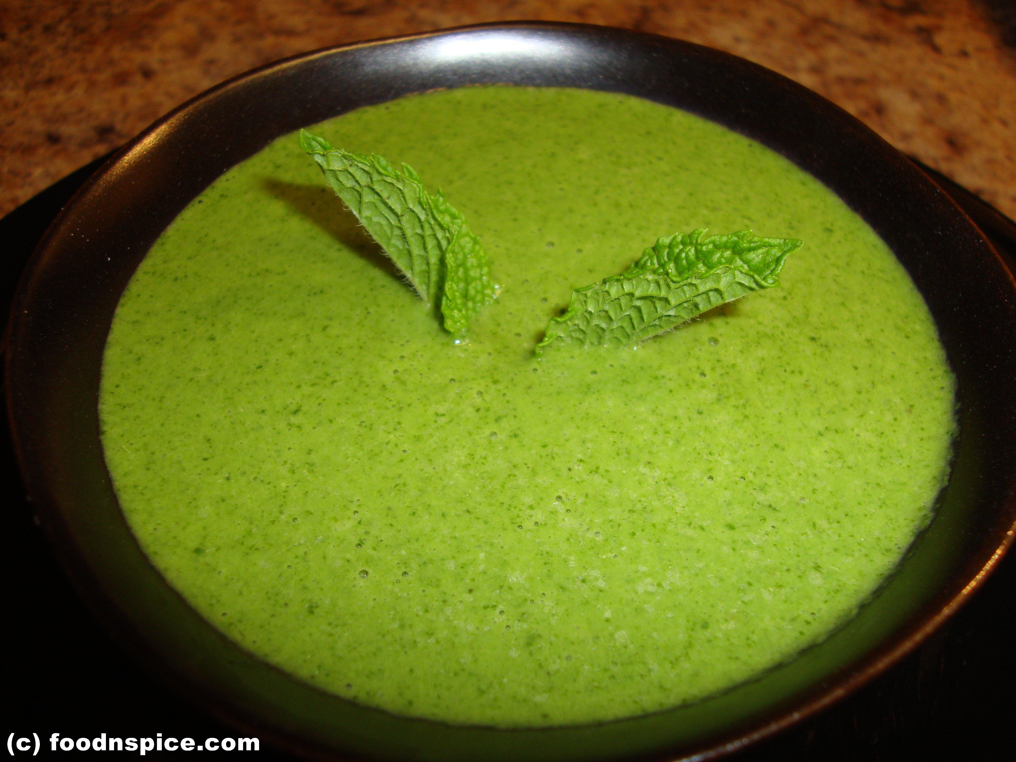 Mint Chutney | Rashmi's Food Blog