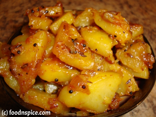 Potato Fry (Aloo Subzi)